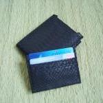 Men Leather Wallet. Black ..