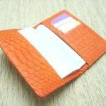 Leather Passport Cover. Sn..